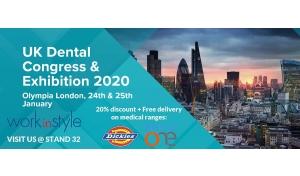 Meet Us At The UK Dental Congress & Exhibition 2020