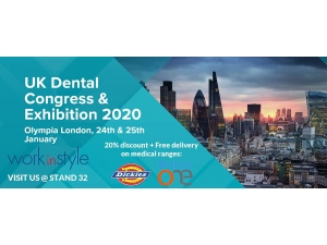 Meet Us At The UK Dental Congress & Exhibition 2020