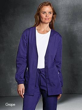 Cherokee 4301 Female Warm-Up Cardigan Jacket