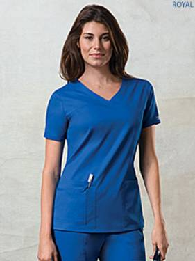 Cherokee Premium Core Stretch 4727 Female V-Neck Top
