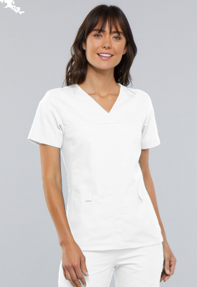 Cherokee Flexibles V-Neck Scrub Top 2968