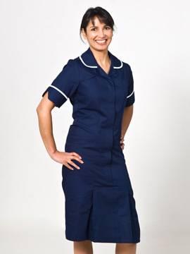 LAIRM Round Collar Nursing Dress