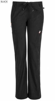 Cherokee Code Happy 46000A Female Petite Low Rise Drawstring Cargo Trouser - Certainty