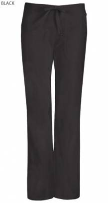 Cherokee Code Happy 46002AB Female Tall Mid Rise Drawstring Trouser - Certainty Plus