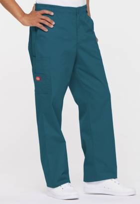 Dickies 81006 Men's Zip Fly Pull-On Trouser - Tall