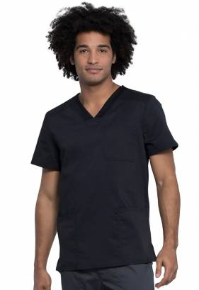 Cherokee Revolution Tech V-Neck Top WW760AB