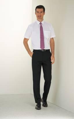 APOLLO Men's Flat Front Trouser