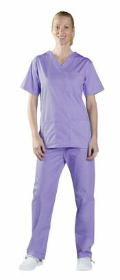 Unisex V-Neck Scrub Top 434NPH END OF LINE