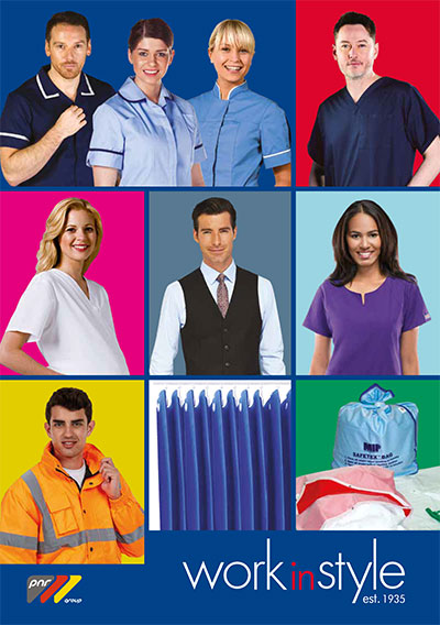 Work in Style Uniforms Catalogue