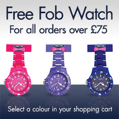 Free Fob Watch with all orders over £75