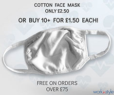 Resusable Cotton Face Mask Offer