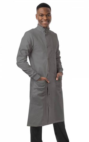Howie Lab Coat - Silver
