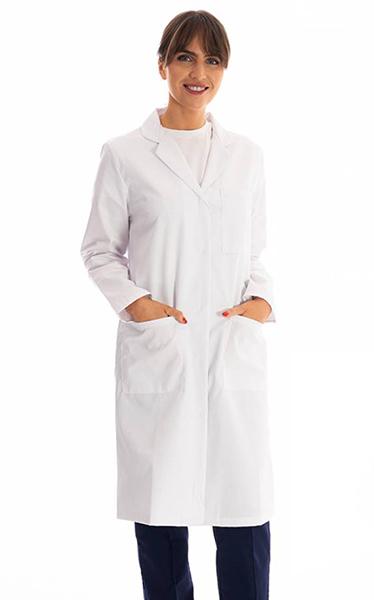 E&E Ladies Lab Coat